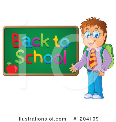 School Children Clipart #1204109 by visekart