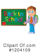 Royalty-Free (RF) Student Clipart Illustration #1204109