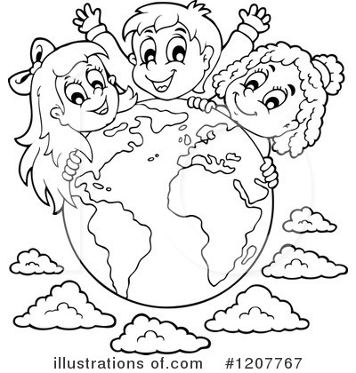 Earth Clipart #1207767 by visekart