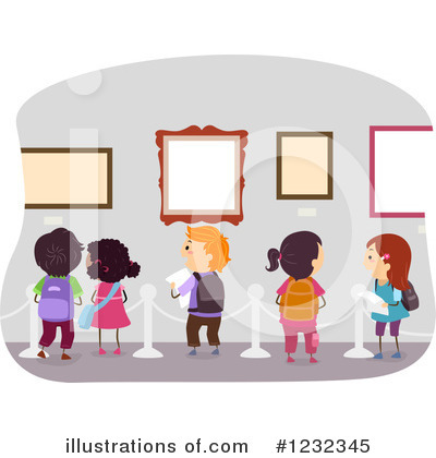 Gallery Clipart #1232345 by BNP Design Studio