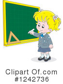 Royalty-Free (RF) Student Clipart Illustration #1242736