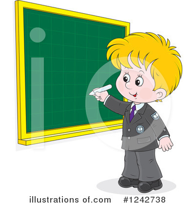 School Children Clipart #1242738 by Alex Bannykh