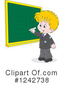 Royalty-Free (RF) Student Clipart Illustration #1242738