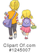 Royalty-Free (RF) Student Clipart Illustration #1245007