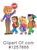 Royalty-Free (RF) Student Clipart Illustration #1257866