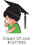 Royalty-Free (RF) Student Clipart Illustration #1277560