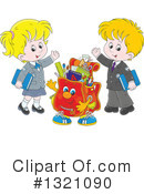 Royalty-Free (RF) Student Clipart Illustration #1321090