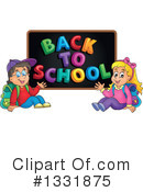 Royalty-Free (RF) Student Clipart Illustration #1331875