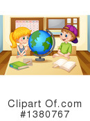 Royalty-Free (RF) Student Clipart Illustration #1380767