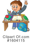 Student Clipart #1604115 by visekart