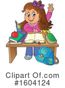 Student Clipart #1604124 by visekart
