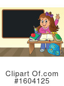 Student Clipart #1604125 by visekart
