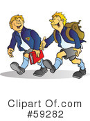 Student Clipart #59282 by Snowy
