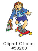 Student Clipart #59283 by Snowy