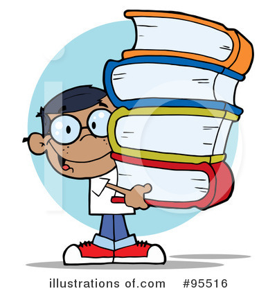 School Boy Clipart #95516 by Hit Toon