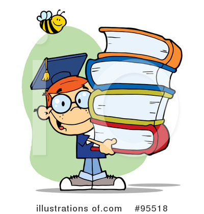 Student Clipart #95518 by Hit Toon