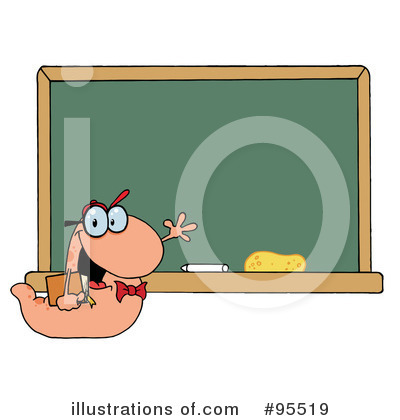 Book Worm Clipart #95519 by Hit Toon