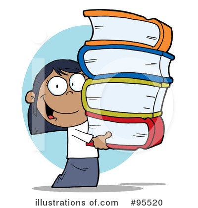 Book Worm Clipart #95520 by Hit Toon