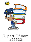 Student Clipart #95533 by Hit Toon
