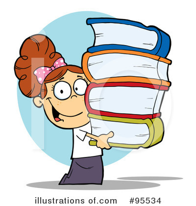 Book Worm Clipart #95534 by Hit Toon