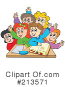 Royalty-Free (RF) Students Clipart Illustration #213571