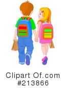 Royalty-Free (RF) Students Clipart Illustration #213866