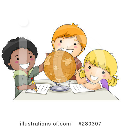 Royalty-Free (RF) Students Clipart Illustration by BNP Design Studio - Stock Sample #230307