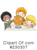 Royalty-Free (RF) Students Clipart Illustration #230307