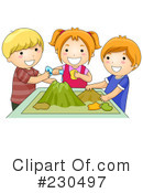 Royalty-Free (RF) Students Clipart Illustration #230497