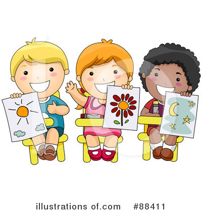 Royalty-Free (RF) Students Clipart Illustration by BNP Design Studio - Stock Sample #88411