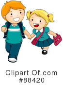 Royalty-Free (RF) students Clipart Illustration #88420