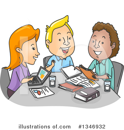 Royalty-Free (RF) Study Clipart Illustration by BNP Design Studio - Stock Sample #1346932