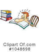 Royalty-Free (RF) Studying Clipart Illustration #1048698