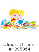 Studying Clipart #1095064 by Alex Bannykh