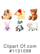 Stuffed Animal Clipart #1131098 by Graphics RF