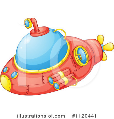 Submarine Clipart #1120441 by Graphics RF