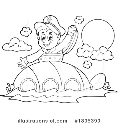 Sailor Clipart #1395390 by visekart