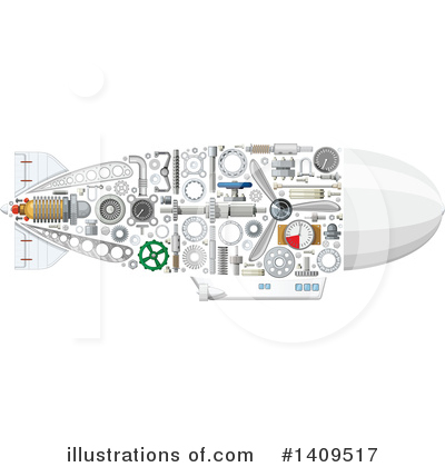 Submarine Clipart #1409517 by Vector Tradition SM