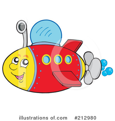 Submarine Clipart #212980 by visekart