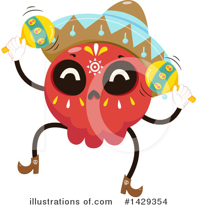 Maracas Clipart #1429354 by BNP Design Studio