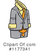 Royalty-Free (RF) Suit Clipart Illustration #1177341