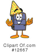 Suitcase Character Clipart #12667 by Toons4Biz
