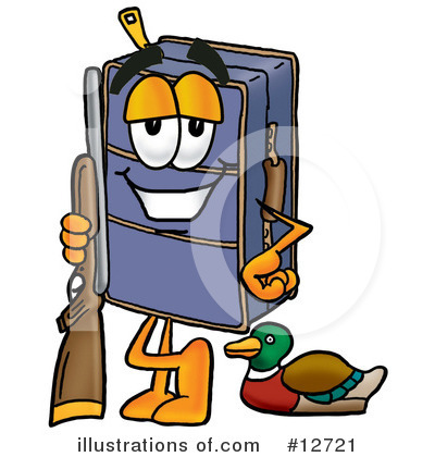 Royalty-Free (RF) Suitcase Character Clipart Illustration by Toons4Biz - Stock Sample #12721