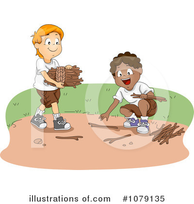 Summer Camp Clipart #1079135 by BNP Design Studio