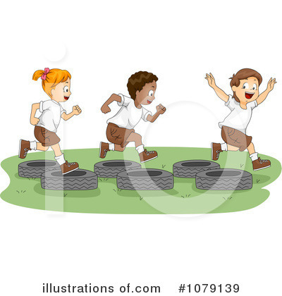 Obstacle Course Clipart #1079139 by BNP Design Studio