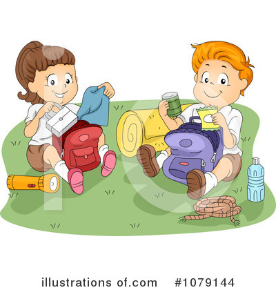 Camping Clipart #1079144 by BNP Design Studio