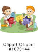 Royalty-Free (RF) summer camp Clipart Illustration #1079144