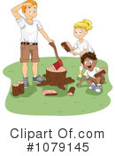Royalty-Free (RF) summer camp Clipart Illustration #1079145