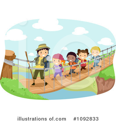 Royalty-Free (RF) Summer Camp Clipart Illustration by BNP Design Studio - Stock Sample #1092833