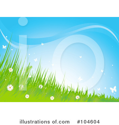 Royalty-Free (RF) Summer Clipart Illustration by Pushkin - Stock Sample #104604